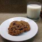 Cran Oat Raisin Cookies & Milk THumbnail