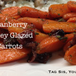 Cranberry Honey Glazed Carrots