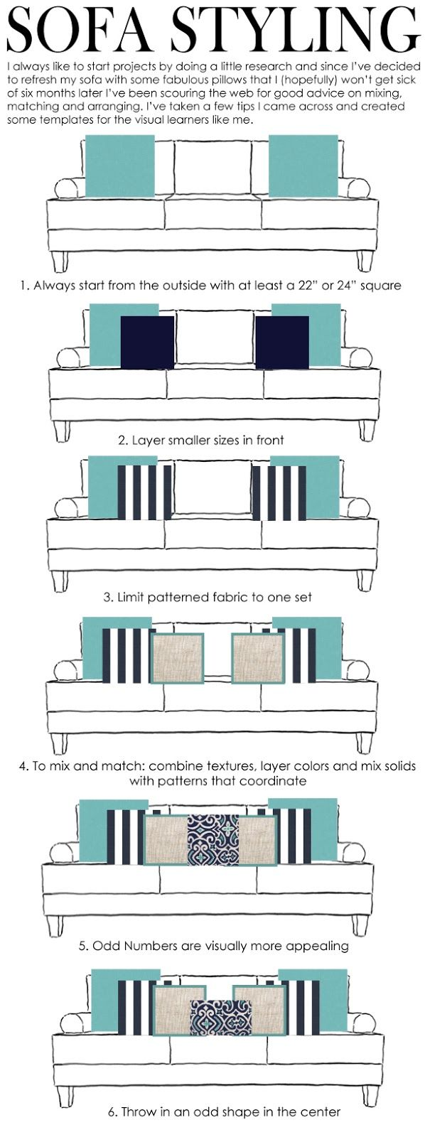 pillow layout