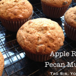 Apple Raisin Pecan Muffins