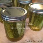 How to make Pickles