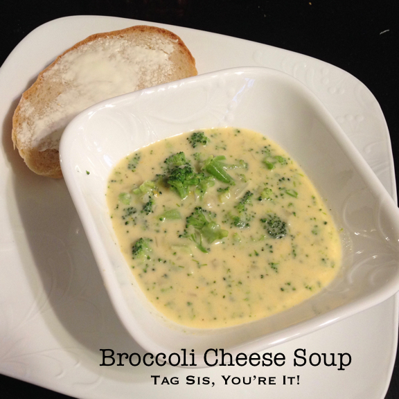 Broccoli Cheese Soup II