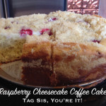 Raspberry Cheesecake Coffee Cake